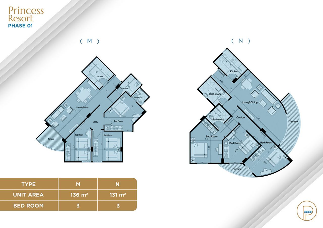 Floor Plan Unit Type M+N